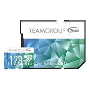 Team 十銓|Micro SDXC 128GB UHS-I U3 Color Card II 超高速記憶卡(附轉卡)
