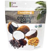 Made in Nature, Organic Toasted Coconut Chips, Italian Espresso, 3.0 oz (85 g)