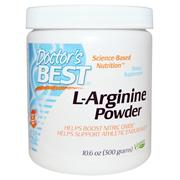[iHerb] Doctor's Best, L-Arginine Powder, 10.6 oz (300 g)