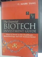 【書寶二手書T3/大學理工醫_ZAO】The Essential Biotech Investmen