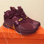 全新 Nike Lebron James Soldier IX 9代 Us8號 酒紅x金色 籃球鞋