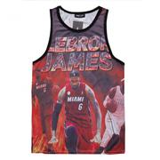 50%OFF【A013584C】LEBRON JAMES MIAMI美式街頭籃球NBA