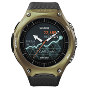 Casio WSD-F10 Android Wear 智能手錶 軍綠色