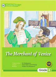 The Merchant of Venice (25K文學改寫彩圖+1CD)