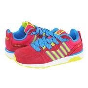 K-Swiss Si-18 Trainer II運動鞋-童-紅/黃