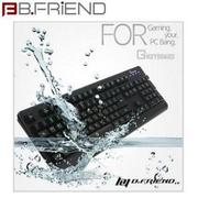 B.FRiEND GKeyboard GK2 超防水LED發光電競鍵盤