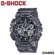"CASIO《G-SHOCK ""BIG G""》叢林迷彩系列 GA-100CM-8A"