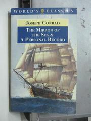 【書寶二手書T7/原文小說_ODO】The mirror of the sea_Joseph
