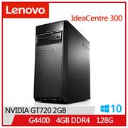 【福利品】LENOVO IC 300 G4400 IdeaCentre桌上型主機(IC 300_20ISH_90DA00P3TV)