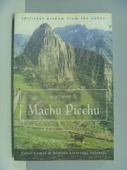 【書寶二手書T9/宗教_ZGC】Journey to Machu Picchu_Carol Cumes