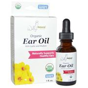 [iHerb] Wally's Natural Products, Organic Ear Oil with Garlic and Mullein, 1 fl oz