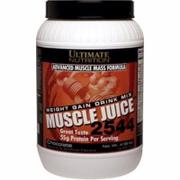 【Ultimate Nutrition】Muscle Juice 肌力果汁高熱量乳清蛋白 4.96磅(巧克力口味)