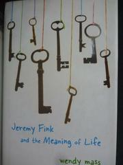 【書寶二手書T4/原文小說_LOF】Jeremy Fink and the Meaning of Lifeva_Wend