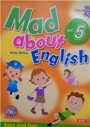 MAD ABOUT ENGLISH 5:EASY AND FUN-RABBIT 05