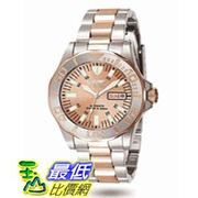 [美國直購 ShopUSA] Invicta Sapphire Diver Rose Gold Dial Two Tone Stainless Steel 男士手錶 7049