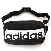 Adidas Linear Performance Waistpack 黑白 小腰包 S99983
