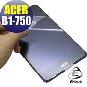 【EZstick】ACER Iconia One 7 B1-750 專用 靜電式平板LCD液晶螢幕貼 (鏡面)