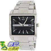 [美國直購 ShopUSA] Armani Exchange 手錶 Men's AX2200 Silver Stainless-Steel Quartz Watch with Black Dial #1681892565 _mr