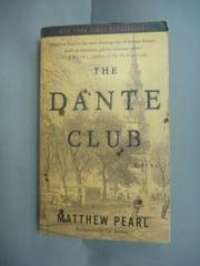 【書寶二手書T3/原文小說_HHE】The Dante Club_Pearl, Matthew