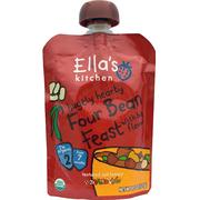[iHerb] Ella's Kitchen, Hugely Hearty,四豆宴,4.5盎司(127克)