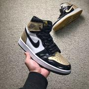 "Air Jordan 1 Retro High OG NRG ""Gold Top 3""   黑金鴛鴦Top 3的巧妙構思  男款"