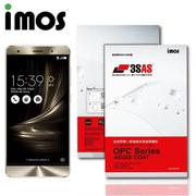 【iMOS 3SAS】ASUS ZenFone 3 Deluxe 5.7吋 -ZS570KL(疏油疏水 螢幕保護貼)