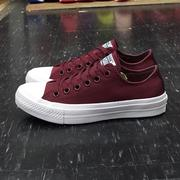 Converse Chuck Taylor All Star II 2代 低筒 酒紅 帆布 LUNARLON 鞋墊 150150C