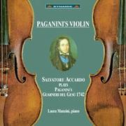 帕格尼尼 名琴加農砲 Paganini's Violin (CD)【Dynamic】