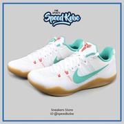 ☆sp☆NIKE Kobe 11 XI EP Summer Pack 白綠 網布 膠底 3M 反光 836184-103