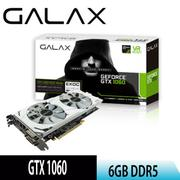 【GALAX影馳】GTX 1060 OC 6GB DDR5 EXOC White 顯示卡