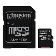 Kingston 金士頓 64GB Canvas Select MicroSDHC 64G 記憶卡 蝦皮24h 現貨