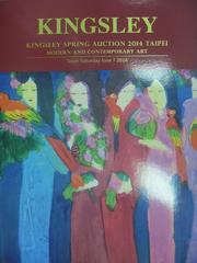 【書寶二手書T6/收藏_XCW】Kingsley spring auction 2014_Mode..._2014/6