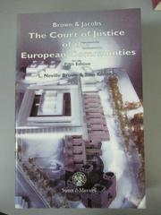 【書寶二手書T2/法律_OEN】The Court of Justice of the European Communi