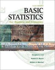 基礎統計學原文書 Basic Statistics for business and economics Douglas