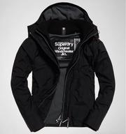 極度乾燥 Superdry Superdry Pop Zip Hood Arctic Windcheate 灰色內裡黑色外套 防風外套  男款