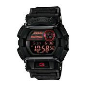 CASIO G-SHOCK GD-400-1紅黑流行腕錶/50mm