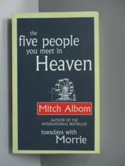 【書寶二手書T8/心靈成長_NSC】Five People You..._Mitch Albom