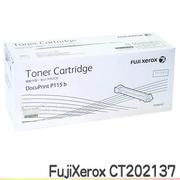 FujiXerox DocuPrint CT202137 黑色原廠碳粉匣