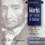 帕格尼尼:魔鬼的吉他情結II Paganini: Works For Violin And Guitar (CD)【Dynamic】