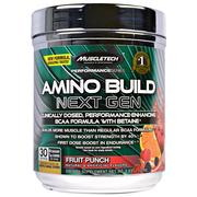 Muscletech, Amino Build Next Gen BCAA Formula With Betaine, Fruit Punch, 9.83 oz (279 g)