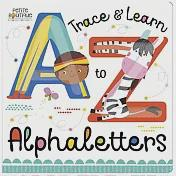 Petite Boutique:Trace And Learn Alphaletters 認識英文字母 硬頁學習書(外文書)