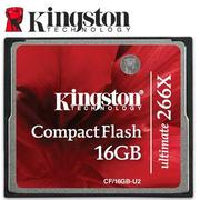附發票 45MB/s Kingston 金士頓 16GB 16G CF Compact Flash 266X 記憶卡