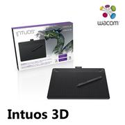 【WACOM】Intuos 3D 觸控繪圖板 Medium  CTH-690/K3-CX (黑)