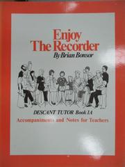 【書寶二手書T3/音樂_WGU】BONSOR:Enjoy the Recorder