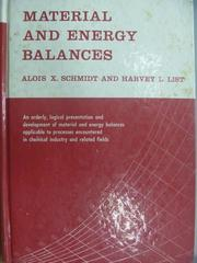 【書寶二手書T4/大學理工醫_ZFR】Material and energy balances