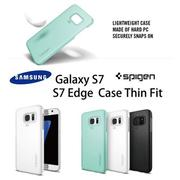 奇膜包膜 Spigen SGP Galaxy S7 / S7 Edge Case Thin Fit 保護殼 超薄