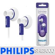 【PHILIPS 飛利浦】SHE3000PP/10 紫 耳塞式耳機