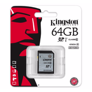 Kingston SDXC R:80MB/s (SD10VG2)記憶卡 64GB 香港行貨