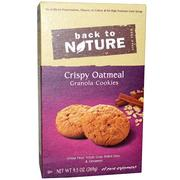 [iHerb] Back to Nature, Granola Cookies, Crispy Oatmeal, 9.5 oz (269 g)