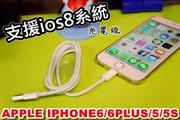 【凱益】IOS6 IOS7 IOS8瘋低價APPLE IPHONE6/6PLUS/5/5S皆適用 品質超優充電線 充電器